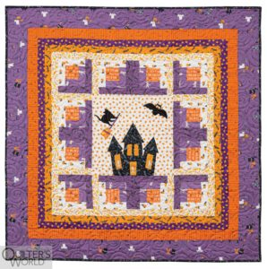 Halloween quilts – 2 fun patterns you will love