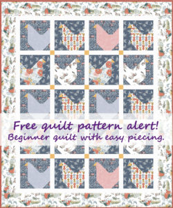 Free chicken quilt pattern for beginners