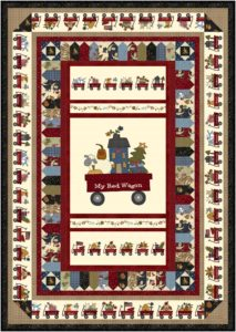 Red wagon quilt patterns: free projects you must make