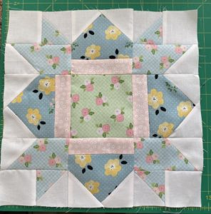 Half-square triangle tutorial and giveaway winner