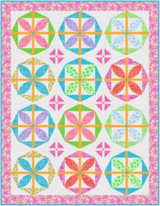The best floral quilt to welcome Spring
