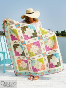 Fat quarter quilt patterns I love for Spring