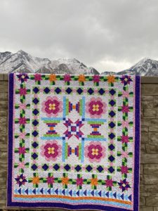 Vintage Jewel Block of the Month quilt