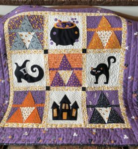 2 Cool Ideas for Halloween and Fall quilts