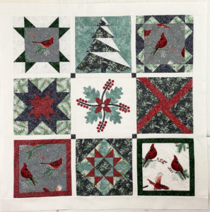 Christmas Quilts with 12-inch Quilt Blocks